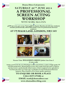 POSTER FOR LONDON SCREEN WS SAT JUNE 28th 2014