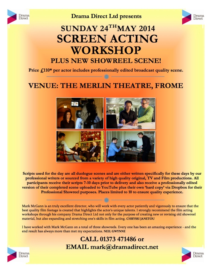 POSTER MERLIN SUN 24th MAY 2015