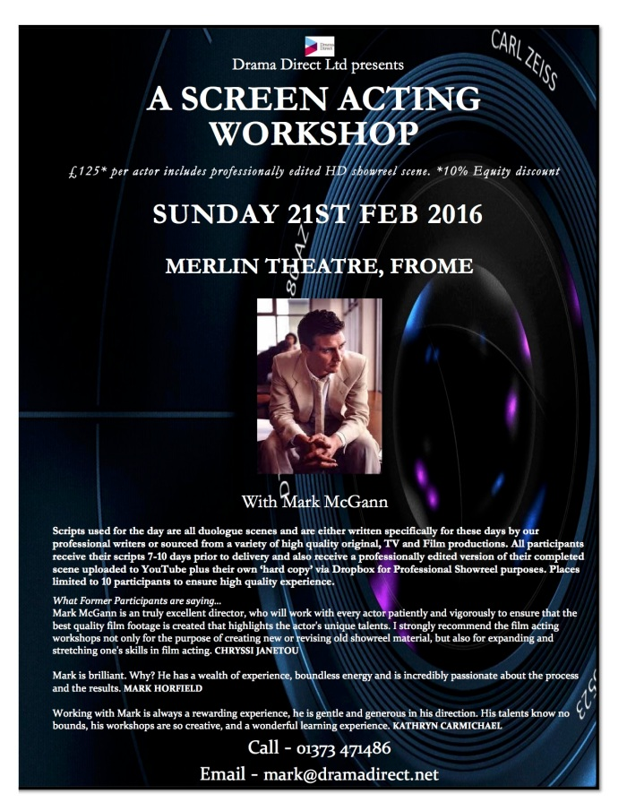 POSTER MERLIN SUN 21st FEB 2016