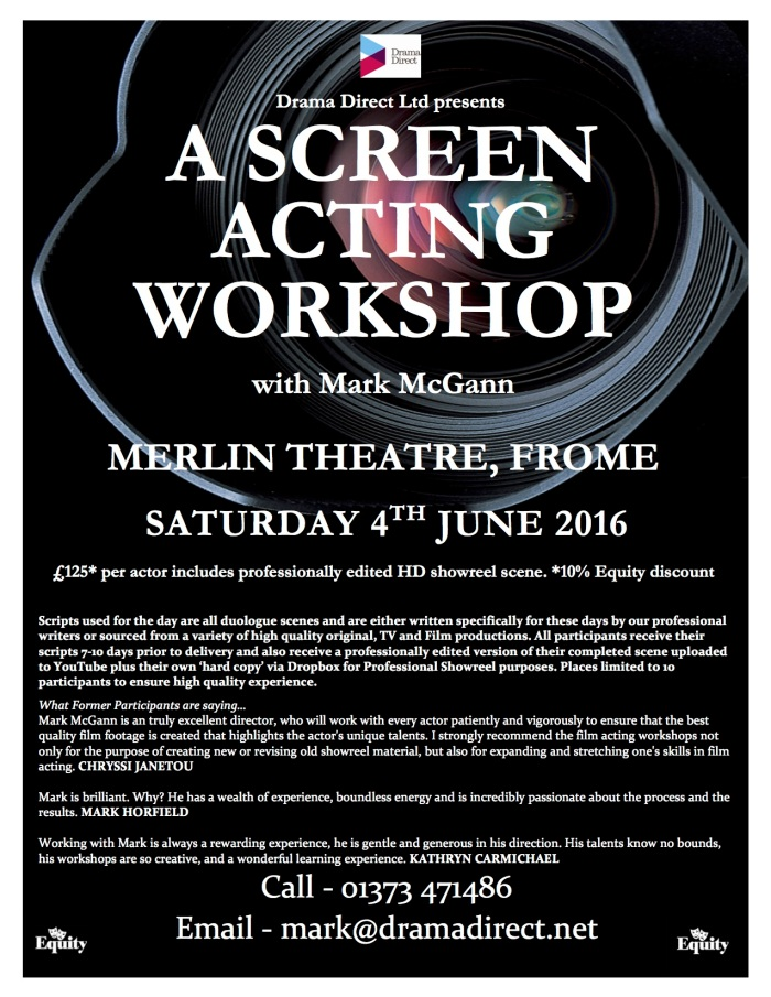POSTER MERLIN SAT 4th JUNE 2016