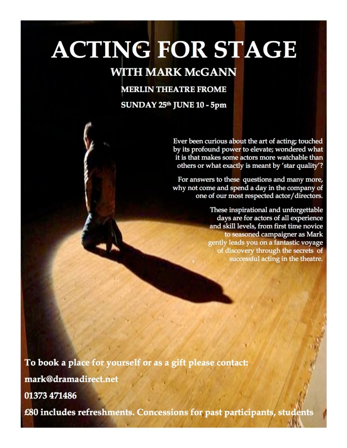 POSTER FOR STAGE ACTING MC FROME 25th JUNE 2017