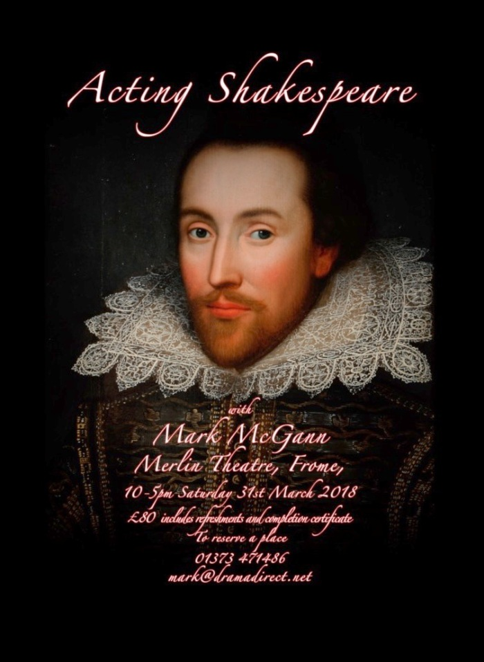 POSTER FOPR SHAKESPEARE CLASS