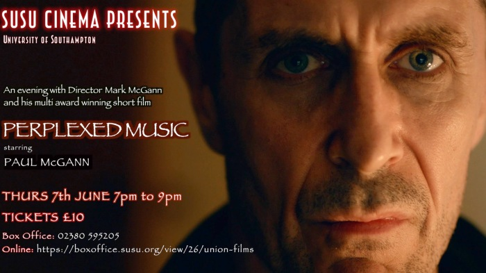 EVENING WITH MARK McGANN SUSO POSTER