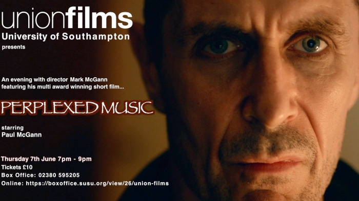EVENING WITH MARK McGANN UNION FILMS POSTER 2